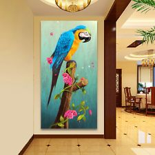 5D Mosaic Diamond Painting Embroidery Parrot Cross Stitch Kits Needlework Craft