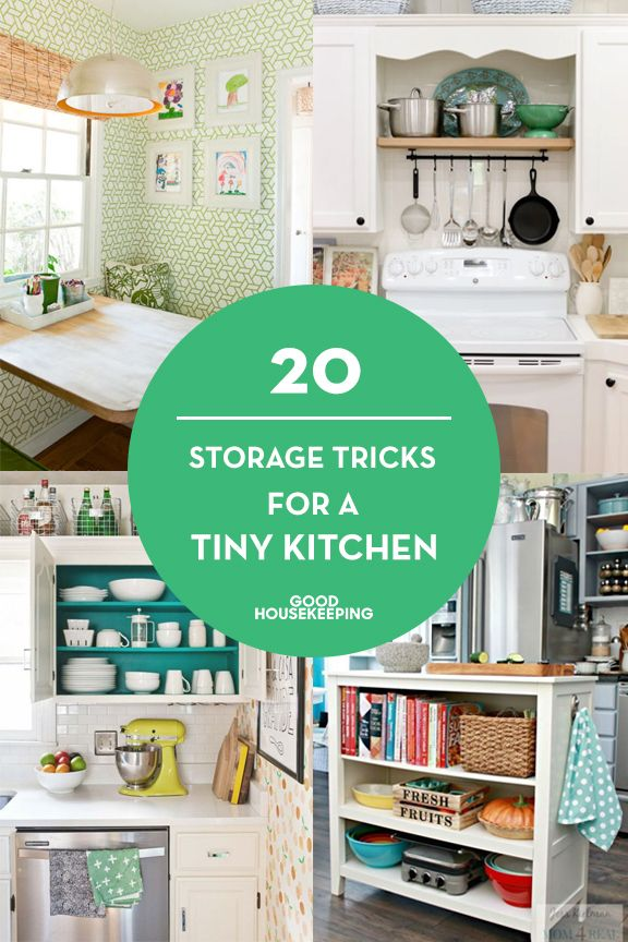 When you don't have much space in your kitchen, make every inch work extra hard.