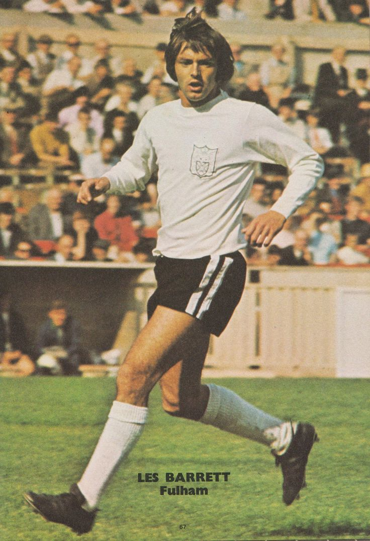 Les Barrett Fulham 1974