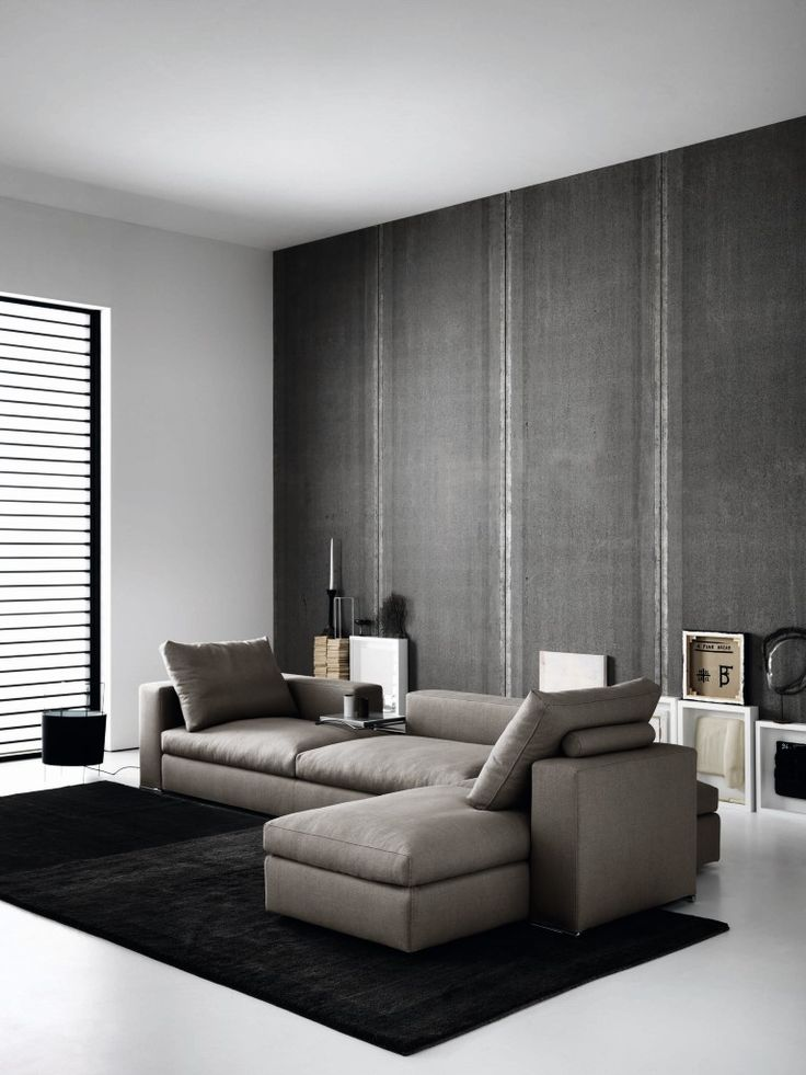 Sofa Ananta by Saba Italia www.sabaitalia.it #saba #sabaitalia #italia #sofa #interior #design #interiordesign #fabric #furniture #designer #furnishing #living #home #collection #comfort #modern #madeinitaly #grey #beige #coffeetable