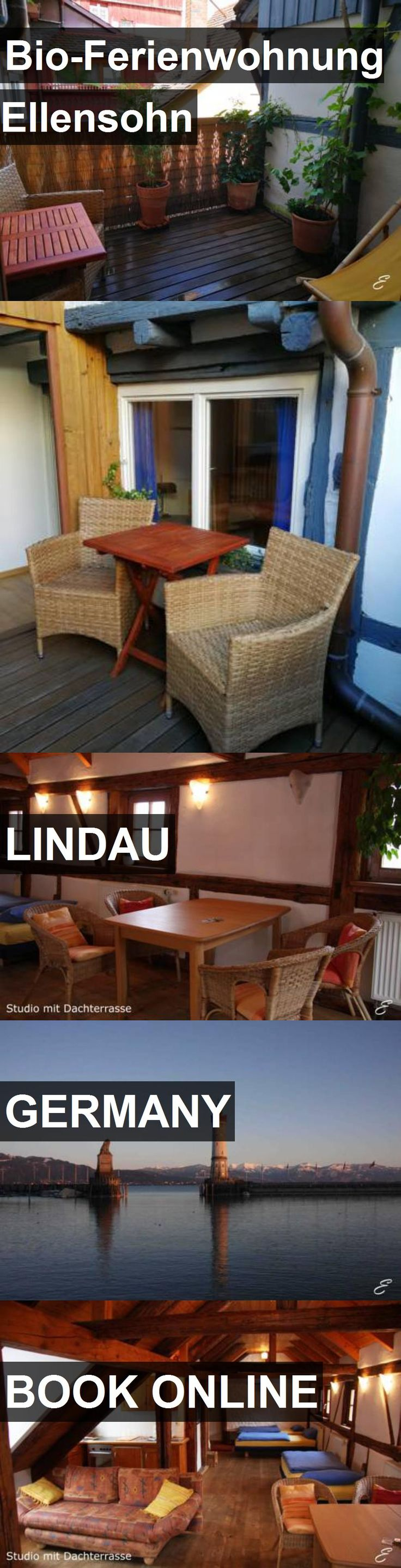Hotel Bio-Ferienwohnung Ellensohn in Lindau, Germany. For more information, photos, reviews and best prices please follow the link. #Germany #Lindau #travel #vacation #hotel