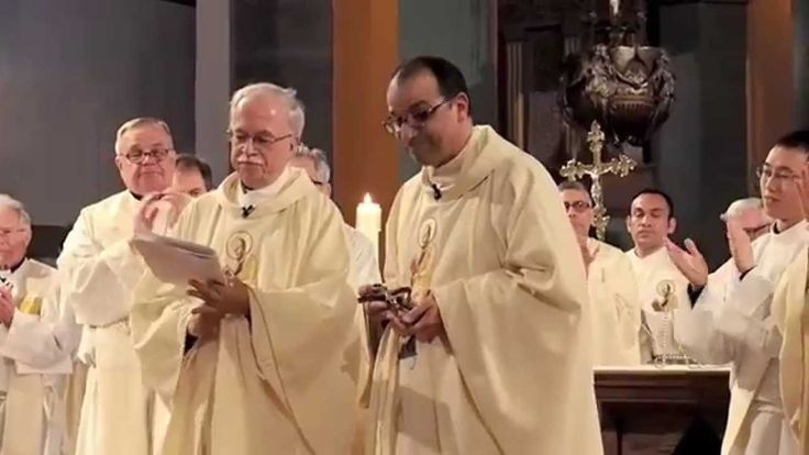 Fr. Eric Andrews, CSP, Installation Mass