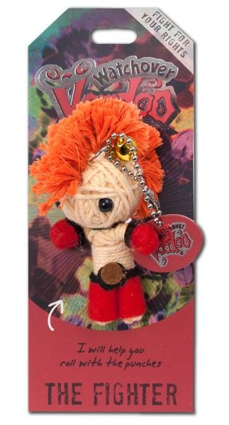 Watchover+VooDoo+String+Doll+Keychain+-+Fighter