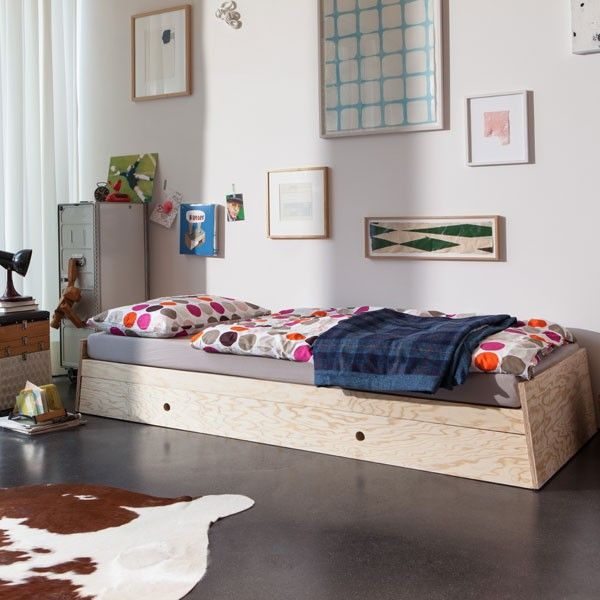 Oltre 25 fantastiche idee su letto singolo contenitore su - Letto singolo con cassetti ...