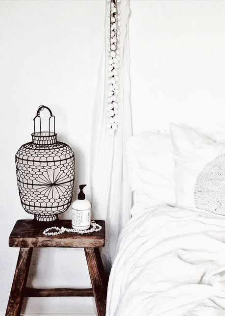 """White - BBC Boracay says: """" Simple, clean, fresh - we love it. Just bring sometimes a colorful pillow or place one on the floor.."""""""
