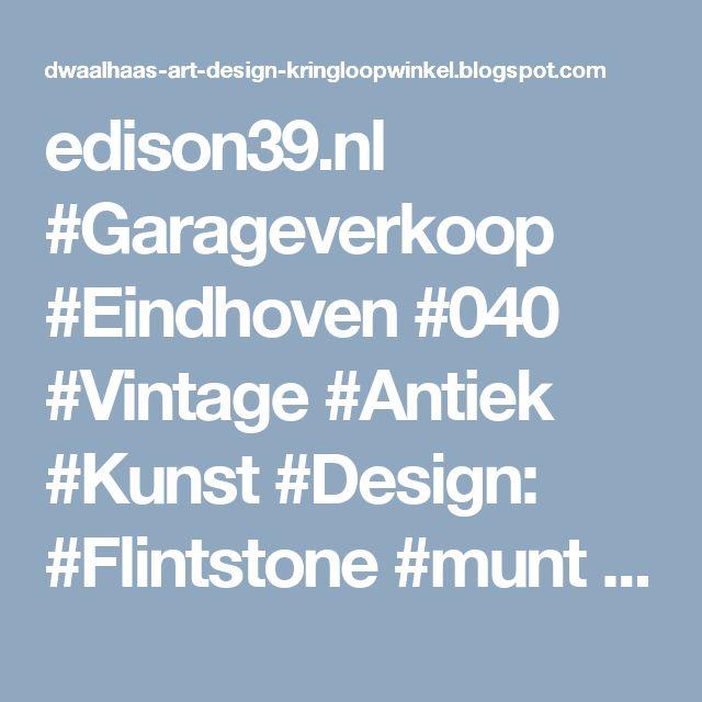 edison39.nl #Garageverkoop #Eindhoven #040 #Vintage #Antiek #Kunst #Design: #Flintstone #munt Yabba Dabba DOOO