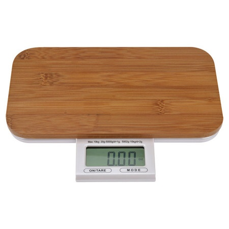 Electronic Bamboo Kitchen Scale.