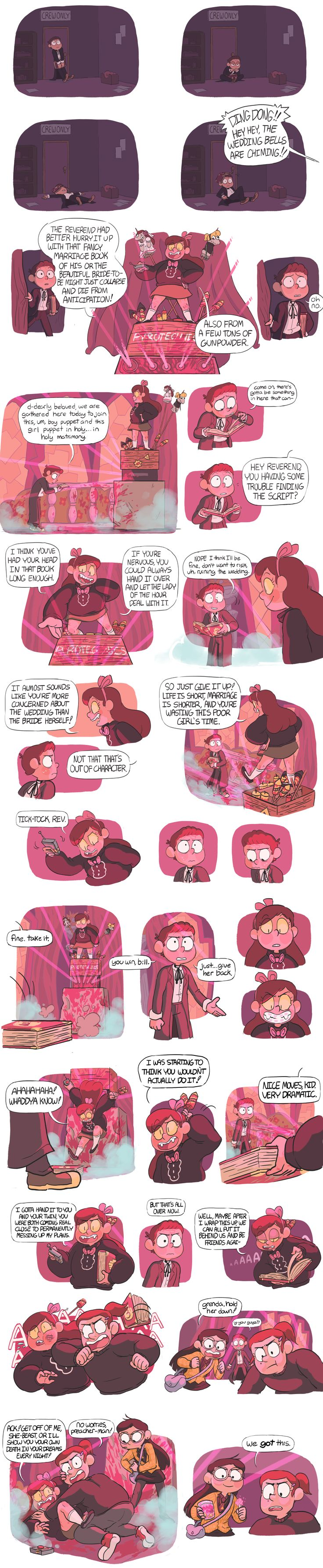 Reunion Falls AU - Sock Opera [6/7] If Cypher had possessed Mabel instead of Dipper