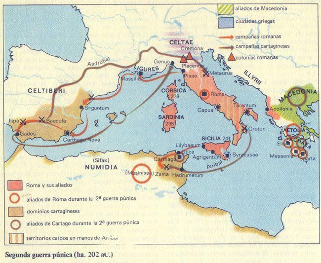 Segunda Guerra Punica : Historia Universal