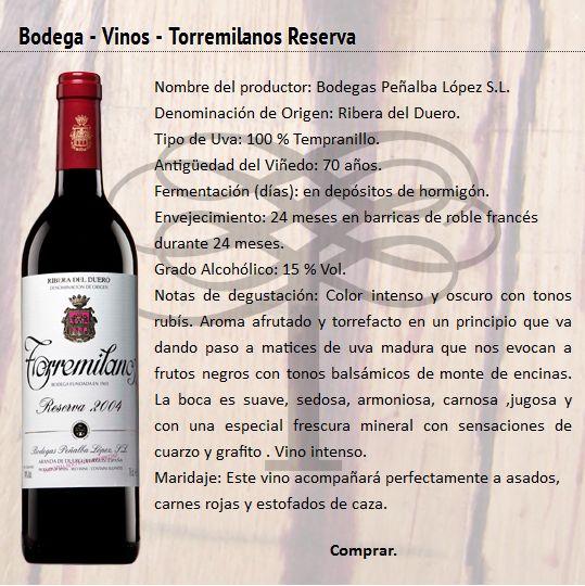 2004 Torremilanos Reserva Tempranillo. Had it as a Special Wine of June 2015. Fantastic. 91/100