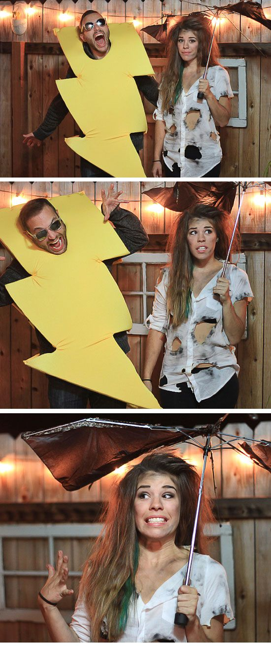 26 DIY Halloween Costume Ideas for Couples                                                                                                                                                                                 More