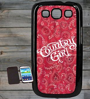 Country Girl ® Bandana Logo Samsung Galaxy S3 Phone Case/Cover