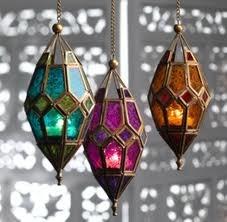 lamparas de marruecos