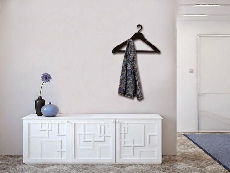 M s de 20 ideas incre bles sobre percheros originales en - Percheros de pared originales ...