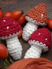 Mushroom - Free Amigurumi Pattern - Scroll Down for the English Pattern