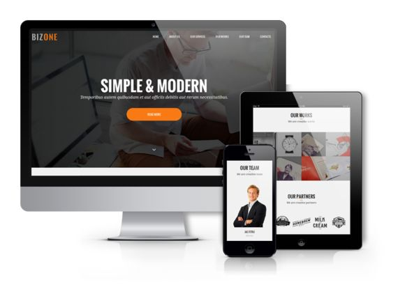 Check out BizOne - Drupal  One Page Theme by Ordasoft  on Creative Market