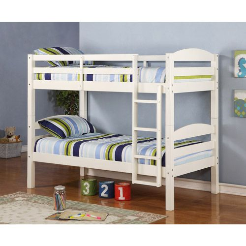 Shop for the Twin over Twin Solid Wood Bunk Bed for less at Walmart.com. Save money. Live better.
