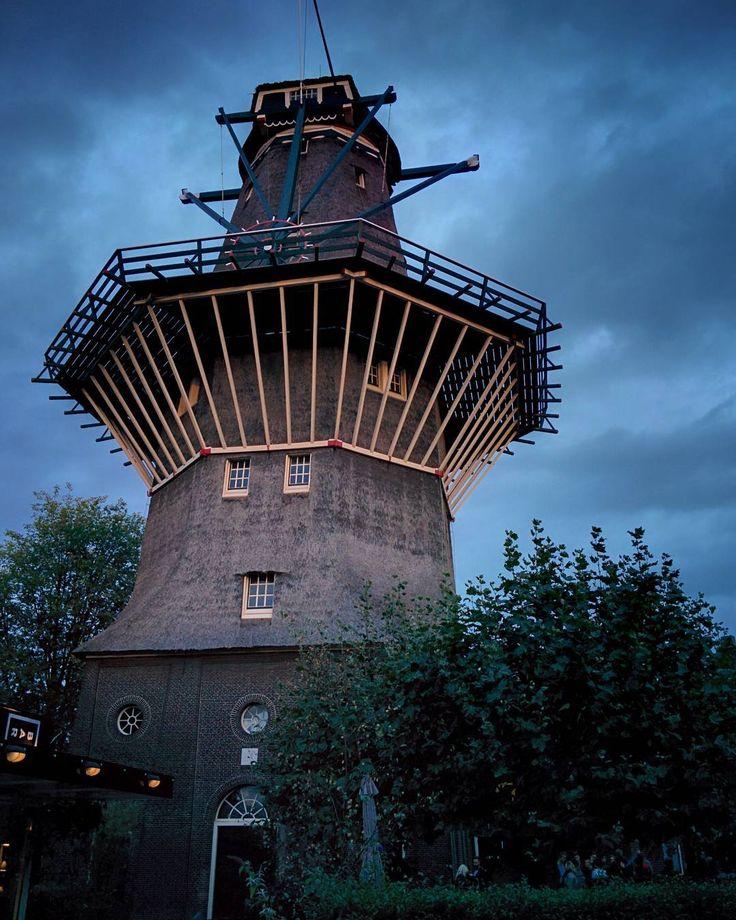 short trip. good trip.  I'll be back (sooner than later)  #amsterdam #igersamsterdam #travelgram #instatravel #thenetherlands #nl #mill #windmill #folk #beautifuldestination #brewery #beer #eveningchill #windmillinthehood