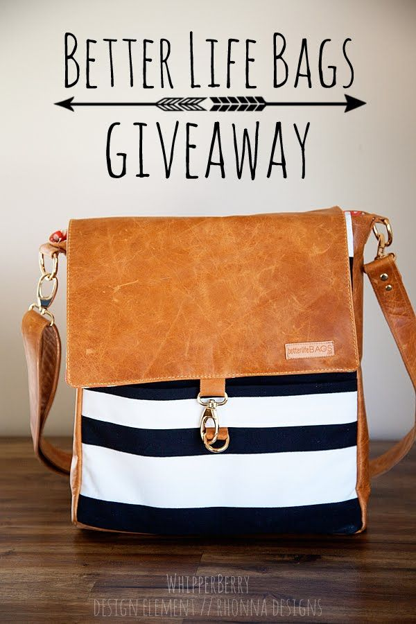 Better Life Bags Giveaway - Whipperberry