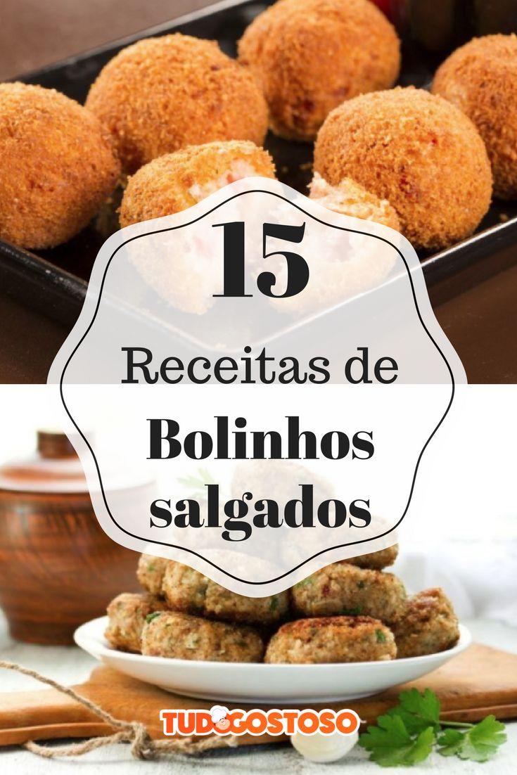 Selecionamos 15 receitas de bolinhos salgados para você arrasar nos aperitivos!