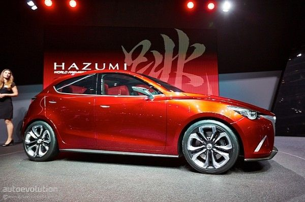 2014 Mazda Hazumi Complete with Images & Video
