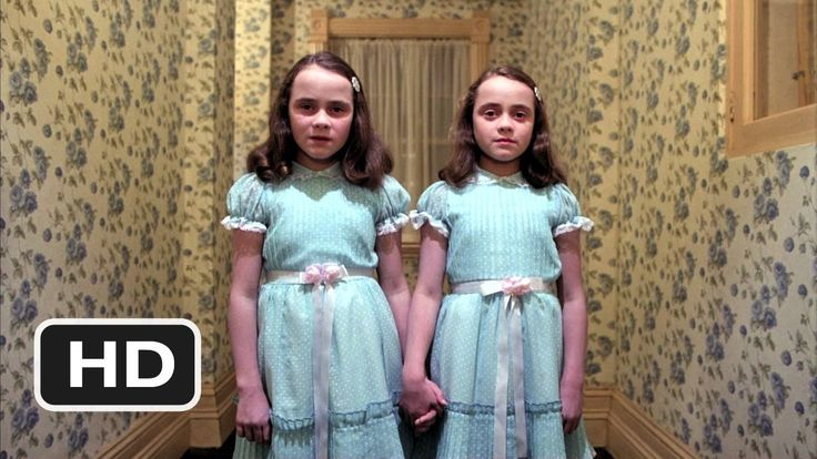 """A clip from the movie, """"The Shining"""""""