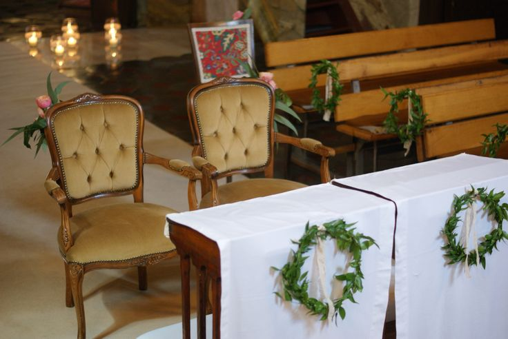 dekoracje kościoła ,ślub
