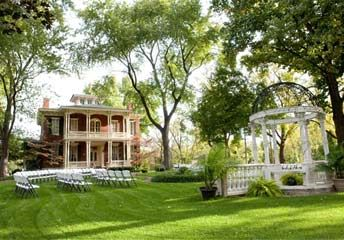 The Larimore House Plantation – St. Louis – Reception and Ceremony Locations. I'm in love.