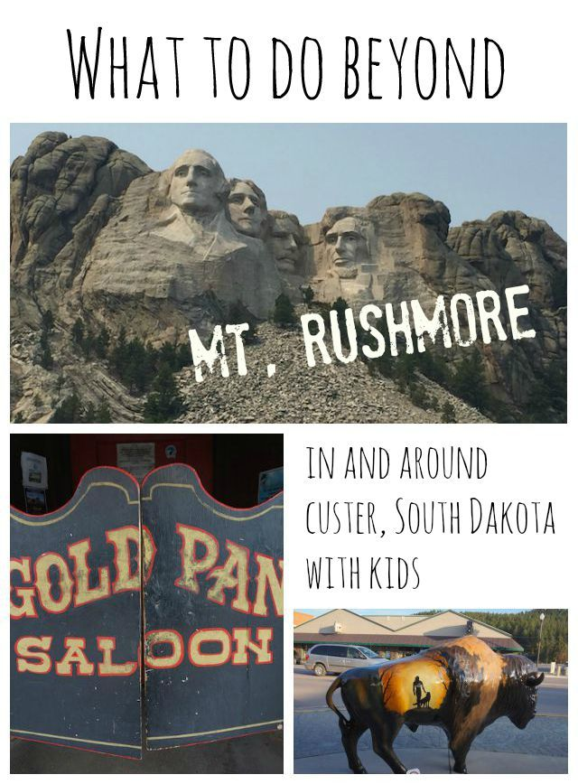 Already seen Mt. Rushmore? More things to do in and around Custer!