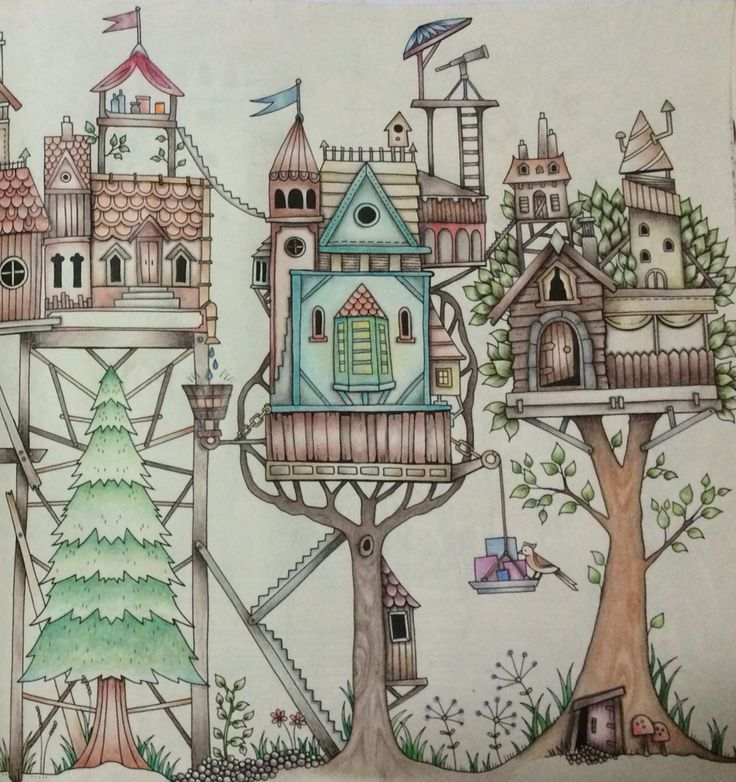 1836 Best Images About Coloring By Johanna Basford On Pinterest