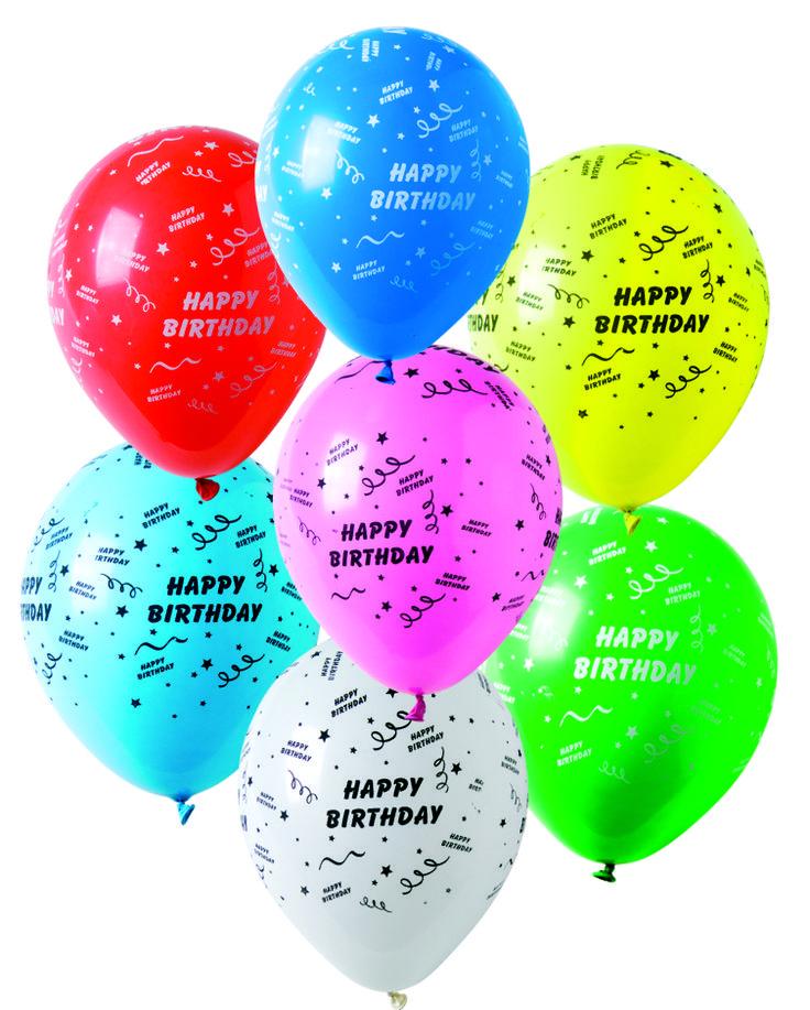 Happy Birthday -ilmapallot