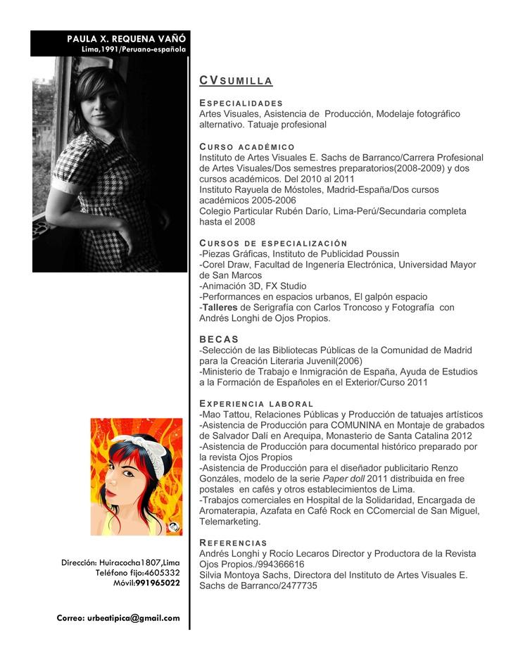 41 best cv   resume images on Pinterest Page layout, Resume - landscape architecture resume