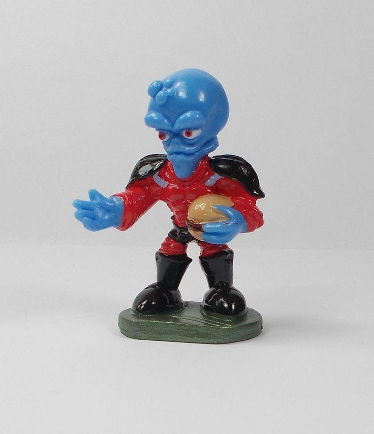Butt Ugly Martians - Emperor Bog - Mini Toy Figure - Cake Topper