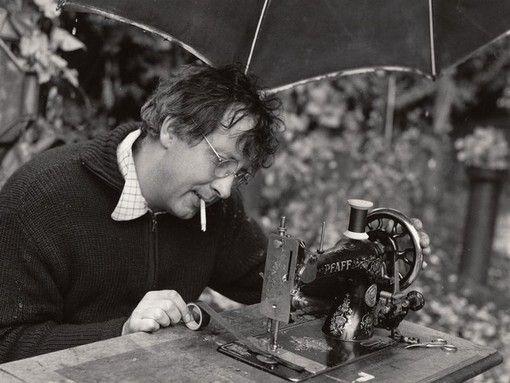 Horst Janssen. Foto: Ingeborg Sello