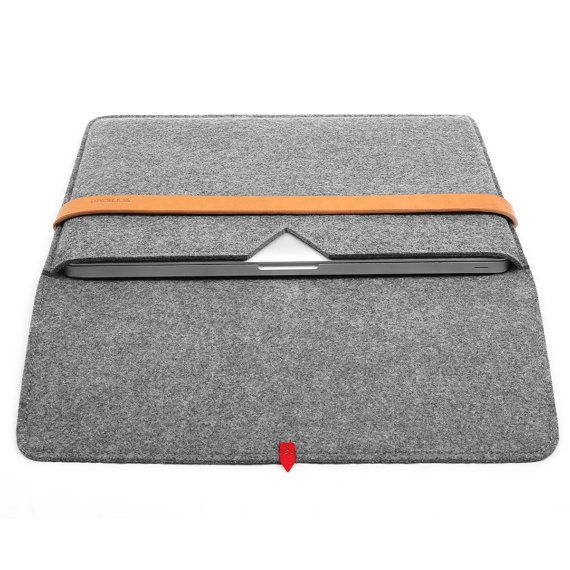 TopHome Design Macbook pro 15 Wool Felt Case Sleeve by TopHome