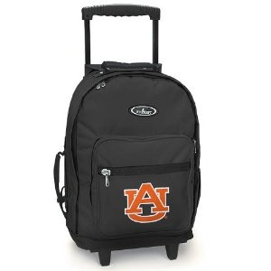 Auburn Rolling Backpack Auburn Tigers - Wheeled Travel or School Bag Carry-On Travel Bags with Wheels -Suitcase Best Quality- (Apparel)  http://documentaries.me.uk/other.php?p=B004COTXBW  B004COTXBW