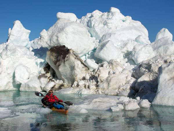 Circumnavigating Ellesmere Island in Canada's high Arctic was considered the world's last great unattempted polar expedition, due not only to its remoteness but also to its dangerous ice conditions and roaming polar bears.