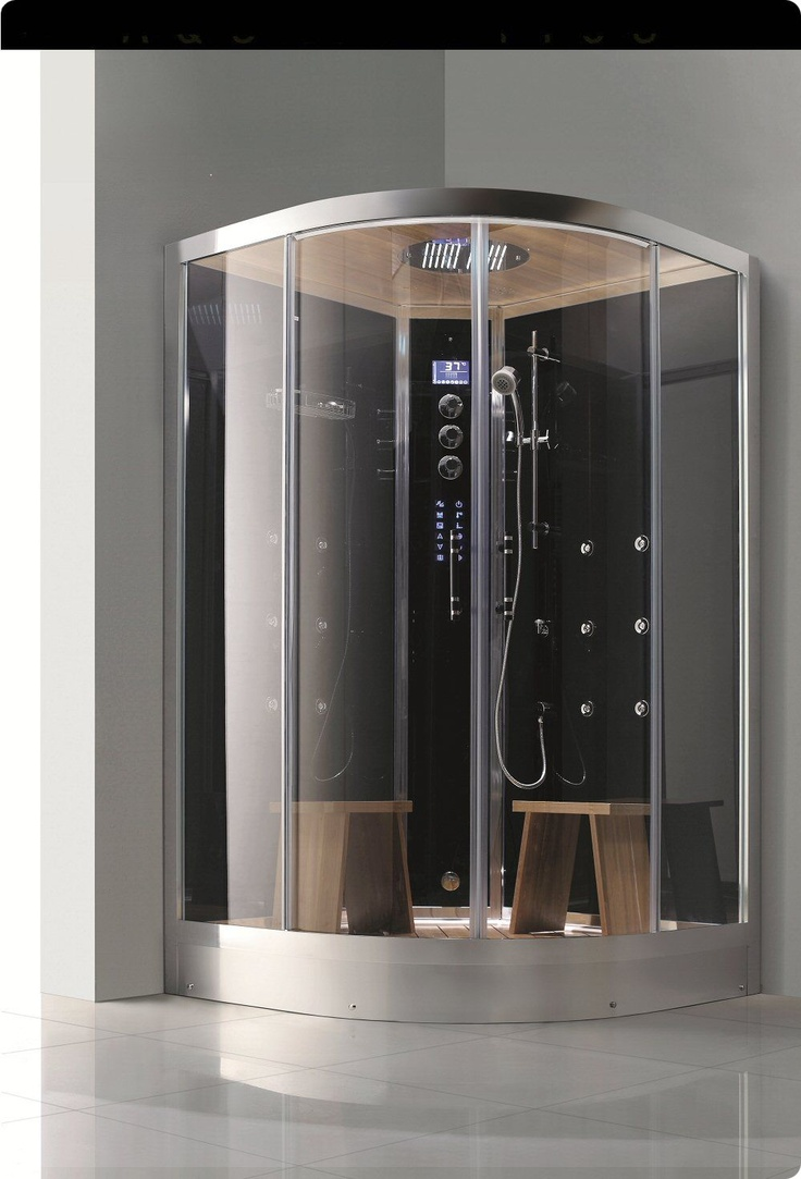 53 best steam showers images on pinterest steam showers luxury this beautiful new steam shower measures and is large enough for 2 people