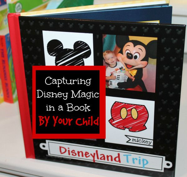 Have your child write captions for a disneyland memory ...
