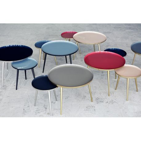 Les 25 meilleures id es de la cat gorie tables basses - Table basse ronde gigogne ...