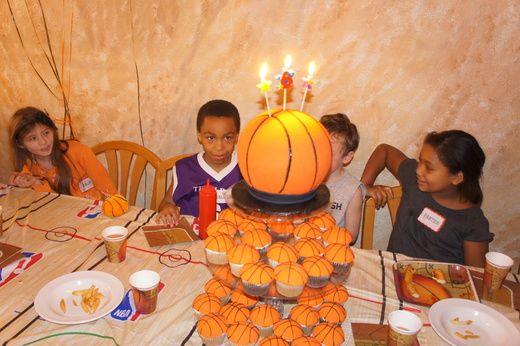 Basketball Birthday Party Ideas Donuts Birthdays And