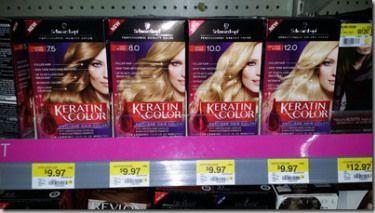 Save $6.50 on Schwarzkopf Hair Color at Walmart!