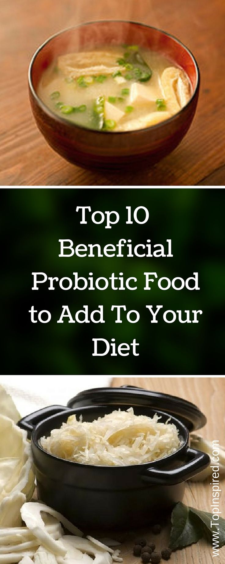 To prevent diseases, you should include more natural probiotic (containing live strains of healthy bacteria) foods in your diet. Here you can find a list of top 10 probiotic food. #Probiotic #Probiotic_Food