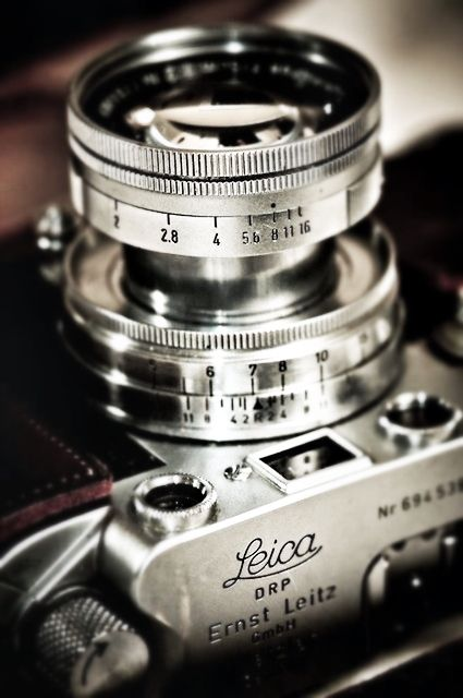 Leica. Truly a photographer's camera.