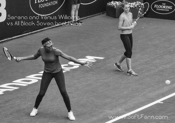 Venus Williams (L) and Jade Lewis.        Serena and Venus Williams vs All Black Savea brothers today in Auckland. ... 19  PHOTOS        ... At the first day of year 2017 in Auckland tennis superstars Serena and Venus Williams will met All Black brothers Julian and Ardie Savea at a charity match-up.        Originally posted:         http://softfern.com/NewsDtls.aspx?id=1119&catgry=1            SoftFern News, Venus Williams, Serena Williams, sisters Williams vs All Black Savea brothers…