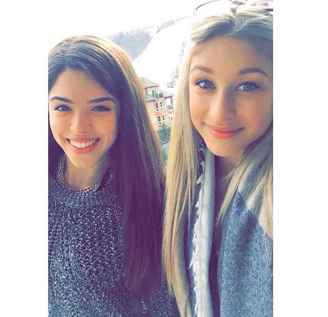 Alexandra and Briar from the next Step