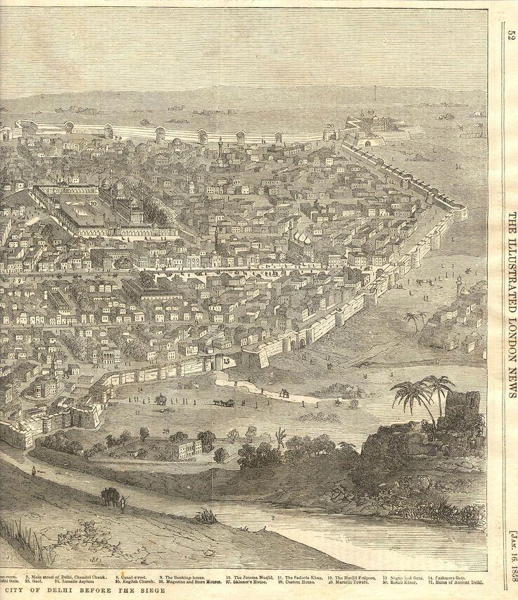 City Of Delhi Before The Siege