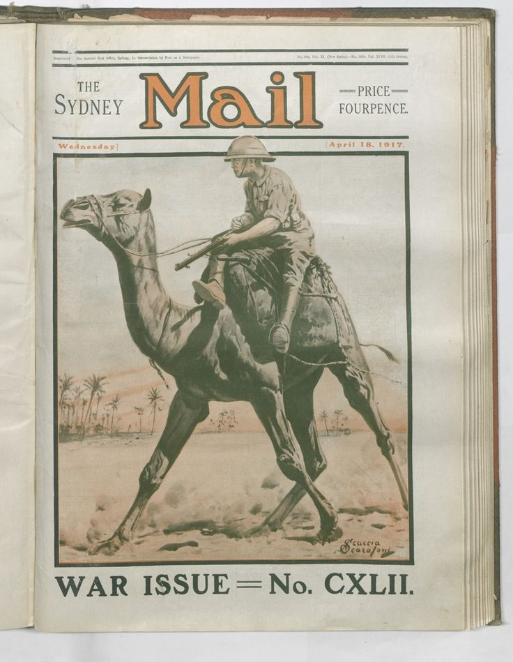 Front cover illustration by Scaccia Scarafoni. Sydney Mail, 16 April 1917. To order a fine art print of this image, please call the Library Shop on 61 2 9273 1611, quoting digital order number a9609142. http://acms.sl.nsw.gov.au/album/albumView.aspx?itemID=1064155&acmsid=0, image no. 142.