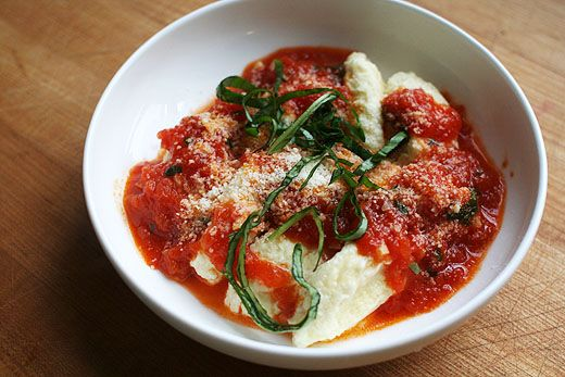 Ricotta Gnudi: Gnudi are small ricotta dumplings. These gnudi are ...