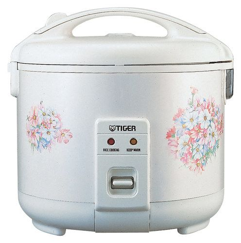 Tiger - 8-Cup Rice Cooker - White